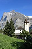 Grindelwald mountain landscape