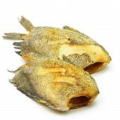 foto of fish skin  - Deep fried  - JPG