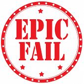 Epic Fail-stamp