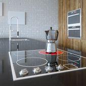 Details of Luxury Wooden Kitchen Cabinet