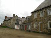 Street of the seventeenth century