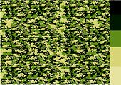 an images of  Camouflage pattern design