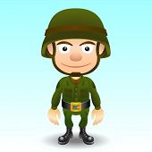 Soldier character