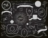 Chalkboard Design Elements -