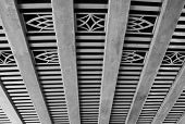Decorative Ceiling Under The Highway