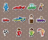 F1 Car  Racing Stickers