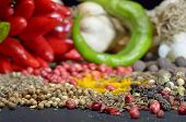 Spices. Food And Cuisine Ingredients.