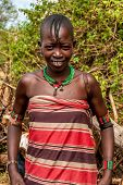 Woman From Banna Tribe