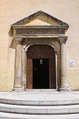 Mother Church of Viggianello. Basilicata. Southern Italy.