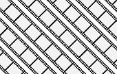 film strip abstract background design