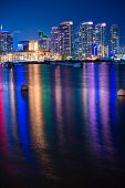 Colorful San Diego Night