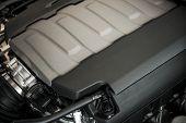 Modern Powerful Car Engine