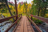 Wooden Trail Bridge