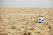Football Gate And Ball, Beach Soccer