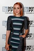 NEW YORK-OCT 5: Actress Jena Malone attends the premiere of