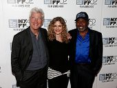 NEW YORK-OCT 5: (L-R) Actors Richard Gere, Kyra Sedgwick and Ben Vereen attend