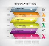 Infographic Modern Design Layout, Vector