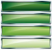 Metallic Frame Green