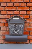 Vintage mailbox on a wall