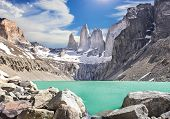 Torres Del Paine Mountains, Patagonia, Chile