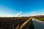 Evening In The Fields Of Friuli