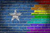 Dark Brick Wall - Lgbt Rights - Somalia