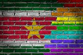 Dark Brick Wall - Lgbt Rights - Suriname