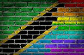 Dark Brick Wall - Lgbt Rights - Tanzania