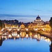 River Tiber, Rome - Italy