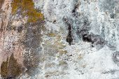 Old Concrete Surface With Rich And Various Texture