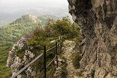 The Trail North To The Campo Dei Fiori