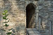 Entrance To Ancient Stone Fortress