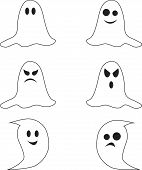 Isolated White Ghost Vectors