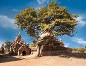 Amazing Architecture Of Old Buddhist Temples At Bagan Kingdom