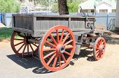 picture of ox wagon  - Historical four - JPG