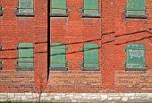 Side Of Old Brick Building