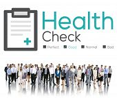 stock photo of medical condition  - Health Check Diagnosis Medical Condition Analysis Concept - JPG