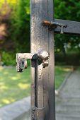 Latch In A Iron Gate