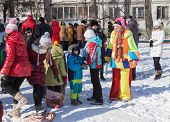 Russian People Celebrates Shrovetide