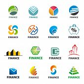 Large Collection Of Of Vector Icons Finance