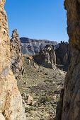 Rocks In National Park El Teide