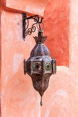 Traditional Arabic Lamp Used For Ornamental Buildings