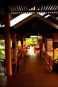 interior the resort