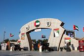 Armed Forces Pavilion at Dubai Global Village