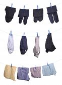 stock photo of boxer briefs  - man underwear  - JPG