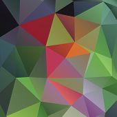 Geometric abstract low-poly paper background. Vector eps with transparency.