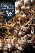Garlic, Street Market In  Provence, France