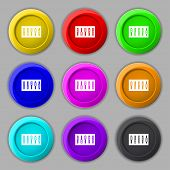 Dj Console Mix Handles And Buttons Icon Symbol. Trendy, Modern Design With Space For Your Text Vecto