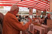 The Cours Saleya, Antique Market In Nice, France