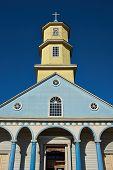 Historic Church of Conchi on Chiloé Island